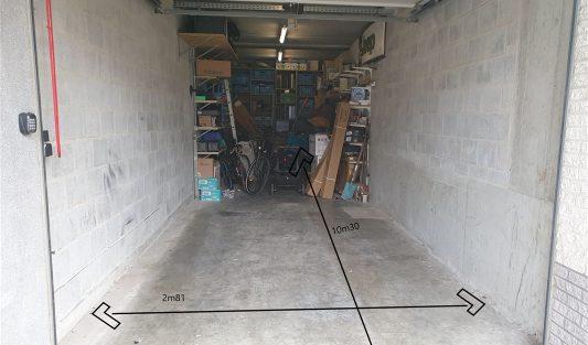 Westende-bad – box du garage